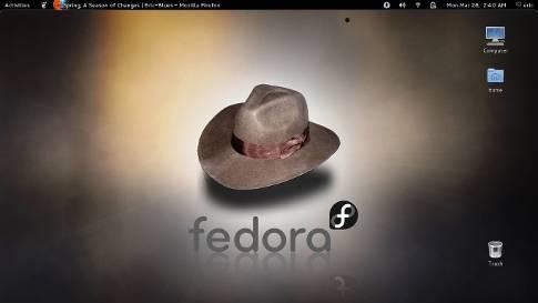 Fedora Linux Desktop
